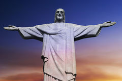 Christ the Redeemer on Corcovado Mountain, Rio de Stock Photography