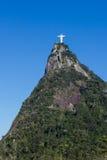 Christ the Redeemer over Corcovado Mountain Stock Photos