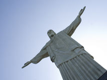 Christ the Redeemer at Rio. Christ the Redeemer at Corcovado, Rio Stock Photos