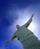 Christ the Redeemer at Rio. Christ the Redeemer at Corcovado, Rio Stock Photography