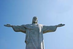 Christ the redeemer in Rio de Janeiro, Brazil Stock Image