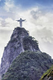 Christ the Redeemer in Rio de Janeiro. Brazil royalty free stock photo