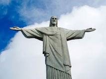 Christ the Redeemer in Rio de Janeiro Royalty Free Stock Images