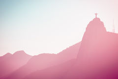 Christ Redeemer statue abstract shot Stock Images
