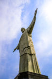 The Christ the Redeemer statue in detail Royalty Free Stock Photos