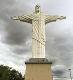The Christ the Redeemer statue of Jesus. AMPARO, BRAZIL - JANUARY 1ST, 2017: The Christ the Redeemer statue of Jesus in Amparo, Sao Paulo state, Brazil Royalty Free Stock Photography