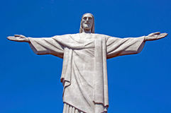 Christ the Redeemer Statue. Rio de Janeiro, Brazil Royalty Free Stock Photography