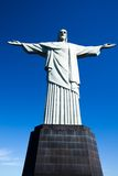 Christ the Redeemer statue in Rio de Janeiro in Brazil.  Stock Images