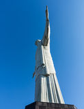 Christ the Redeemer statue in Rio stock photo