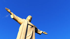 Christ the Redeemer statue in Ro de Janeiro Royalty Free Stock Images
