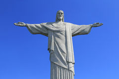 Christ the Redeemer on top of Corcovado, Brazil Stock Photo