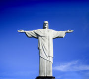 Christ the Reedemer. Famous statue of the Christ the Reedemer, Brazil moment in Rio de Janerio Royalty Free Stock Image