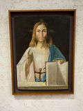 Christ the Reedemer  in Castelvecchio Museum. Verona, Stock Images