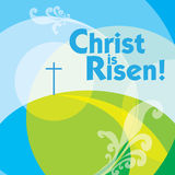 Christ is risen 2 stock photo