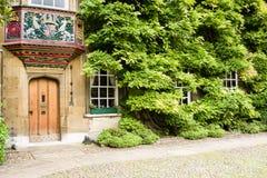 Christ's, Cambridge. Master's lodgings, Christ's college, university of Cambridge, England Stock Image