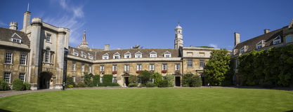 Christ's College in Cambridge Stock Photography