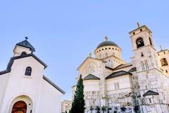 Christ's Resurrection Church in Podgorica, Montenegro Royalty Free Stock Photography