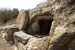 christ s tomb Royaltyfri Bild