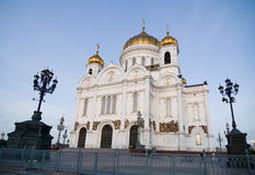 Christ the Savior Cathedral. In Moscow Russia Royalty Free Stock Image