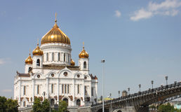 Christ the Savior Cathedral Royalty Free Stock Image