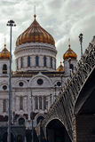Christ the Savior Cathedral. Royalty Free Stock Photography