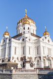 Christ the Savior Cathedral on the background of sky Royalty Free Stock Photo