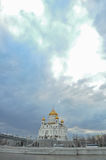 Christ the Savior Cathedral. Moscow Royalty Free Stock Image