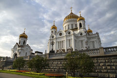 Christ the Savior Cathedral, Moscow, Russia. Stock Photography