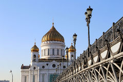 Christ the Savior Cathedral, Moscow, Russia Stock Images