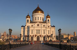 Christ the Savior Cathedral, Moscow Royalty Free Stock Photo