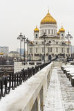 Christ the Savior Cathedral, Moscow, Russia Stock Photo