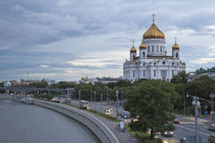 Christ the Savior Cathedral. Moscow Royalty Free Stock Images