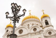 Christ the Savior Church in Moscow, Russia Stock Photo