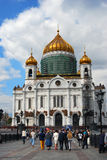 Christ the Savior church in Moscow. Stock Photography