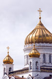 Christ the savior in moscow Stock Photography