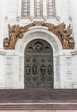 Christ the Savior (Saviour) Church gates Stock Photography