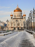Christ the Saviour Cathedral. In Moscow, Russia Royalty Free Stock Photos