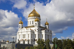 Christ the Saviour Cathedral. In Moscow, Russia Royalty Free Stock Image