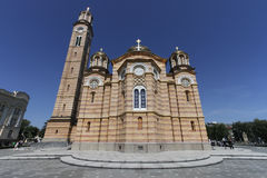 Christ the Saviour Cathedral. In Banja Luka Stock Image