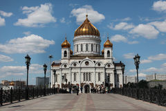Christ the Saviour Cathedral, Moscow Stock Image