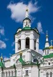 Christ the Saviour Orthodox church Stock Image