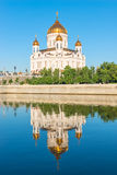 Christ the Saviour reflected in the water Royalty Free Stock Photos