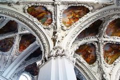Christ the Saviour and St. Agapitus Сhurch Royalty Free Stock Photos