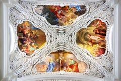 Christ the Saviour and St. Agapitus Сhurch Stock Images
