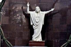 christ skulptur royaltyfria foton