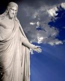 christ statua Jesus fotografia stock