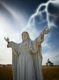 Christ statue Stock Images
