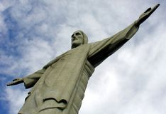 Christ statue in Corcovado Royalty Free Stock Photography