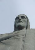 Christ statue in Corcovado. In Rio de Janeiro, Brazil Royalty Free Stock Images