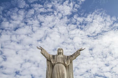 Christ statue Royalty Free Stock Images